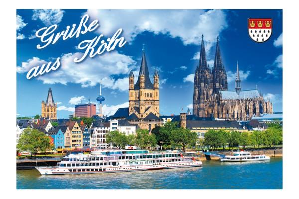 Magnet Grüße aus Köln