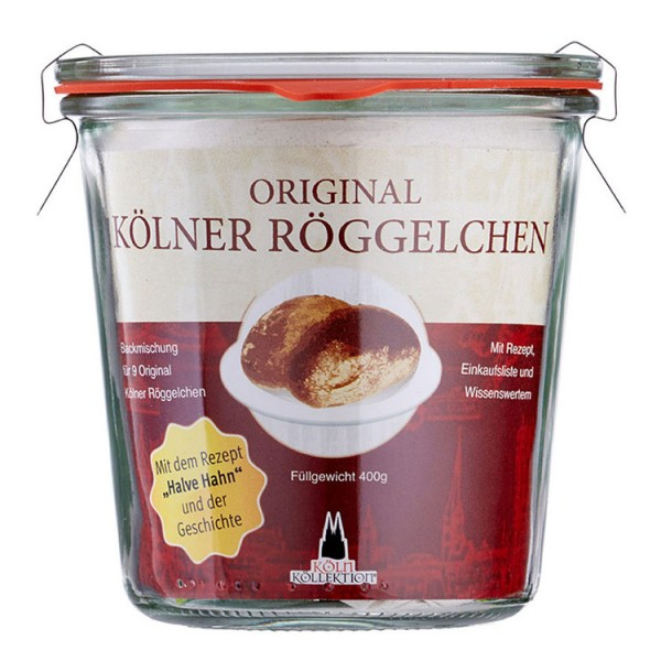 Kölsche Röggelchen Backmischung (inkl. original Halve Hahn Rezept)