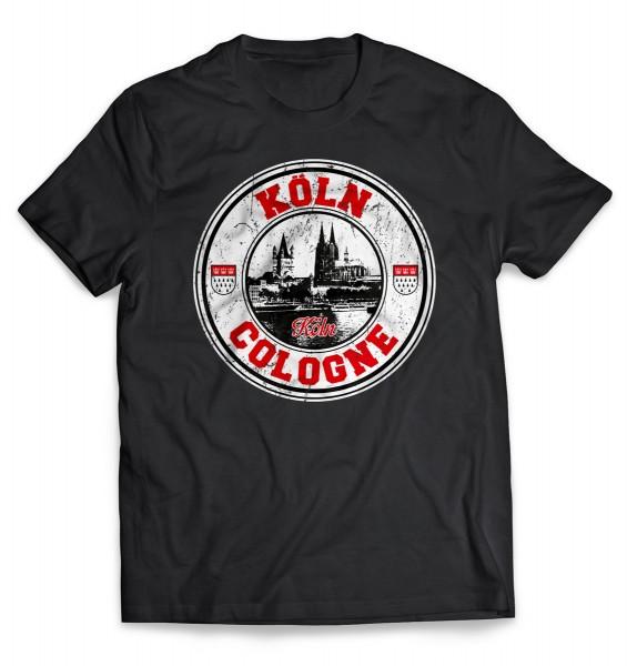 T-Shirt Köln / Cologne, Herren, schwarz