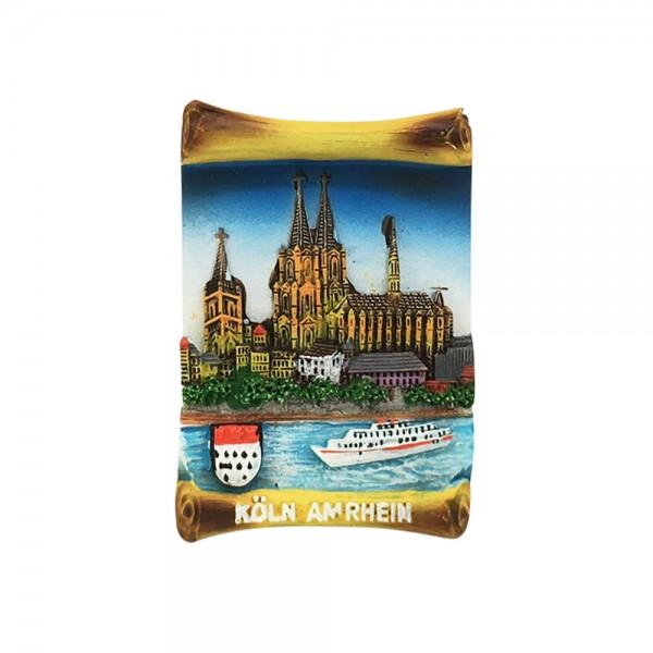 Magnet Urkunde Köln