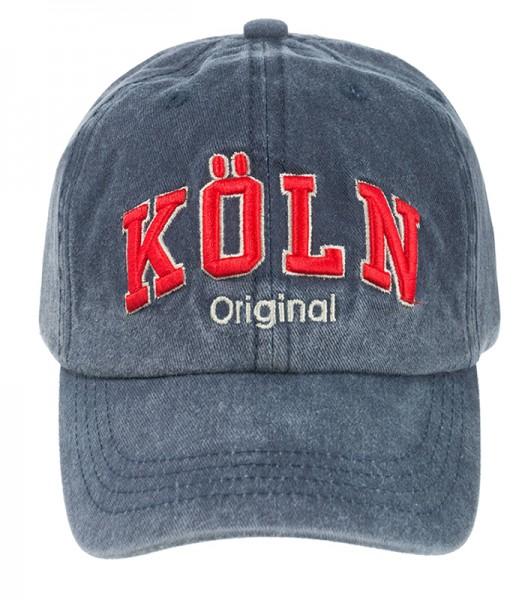 Kinder Cap - Köln Original, blau