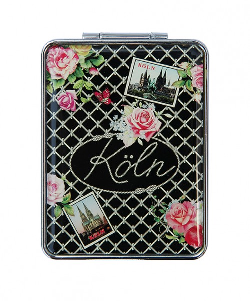Taschenspiegel Vintage, eckig