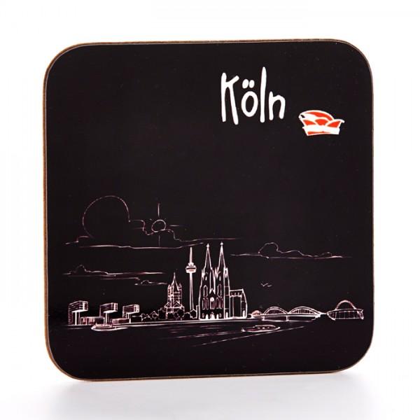 Untersetzer mit der Kölner Skyline