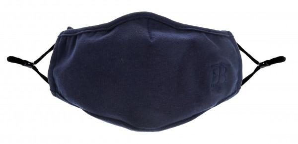 Maske uni-blau (2er Set)