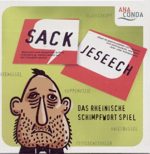Sackjeseech - Das rheinische Schimpfwort-Spiel