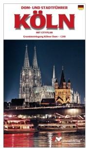 Köln - Dom und Stadtführer mit Cityplan