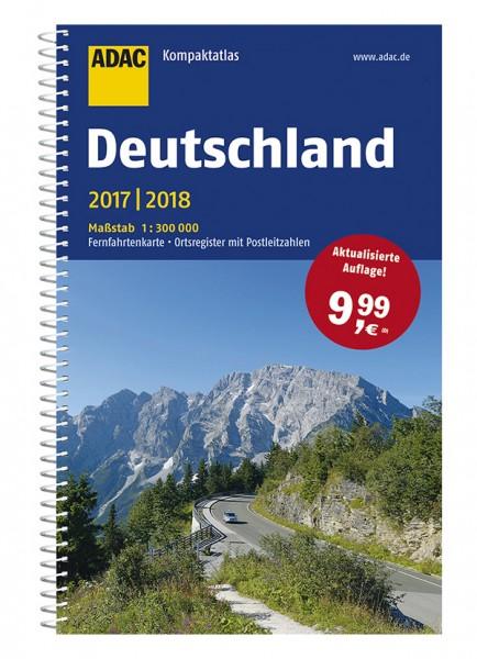 Deutschland 2016 / 2017 - ADAC KompaktAtlas