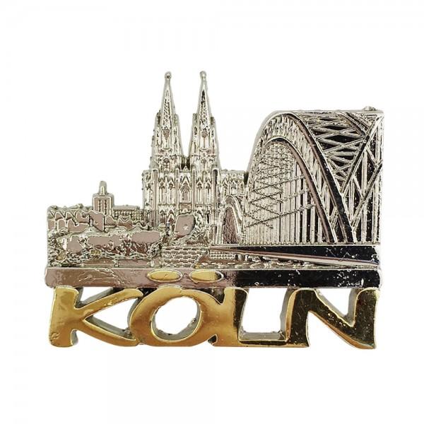 Pin Kölner Dom und Hohenzollernbrücke