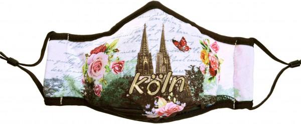 Köln Maske - Motiv Dom-Romantik Mikrofaser (2er Set)