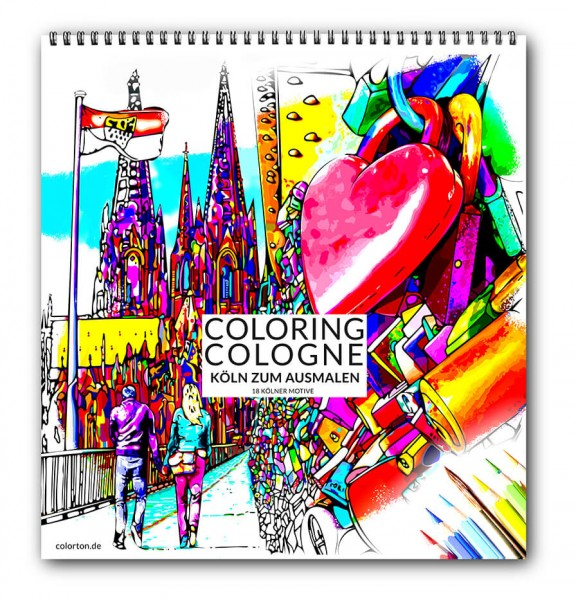 Coloring Cologne - Malblock Köln