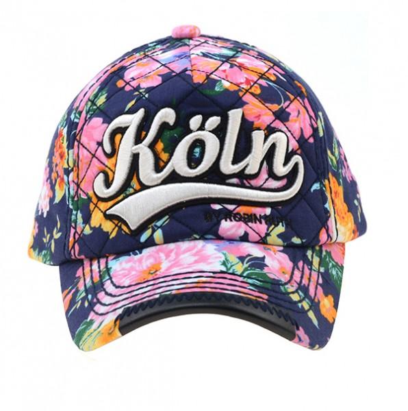 Cap Köln, Flower-Style dunkel