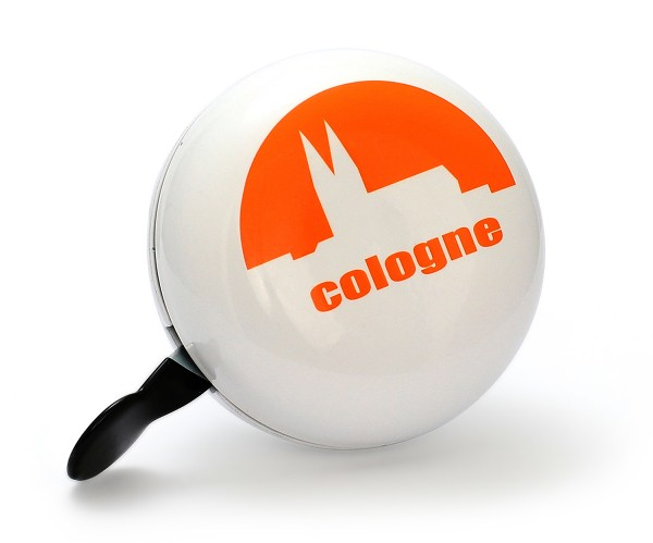 Fahrradglocke XXL - Cologne, weiß