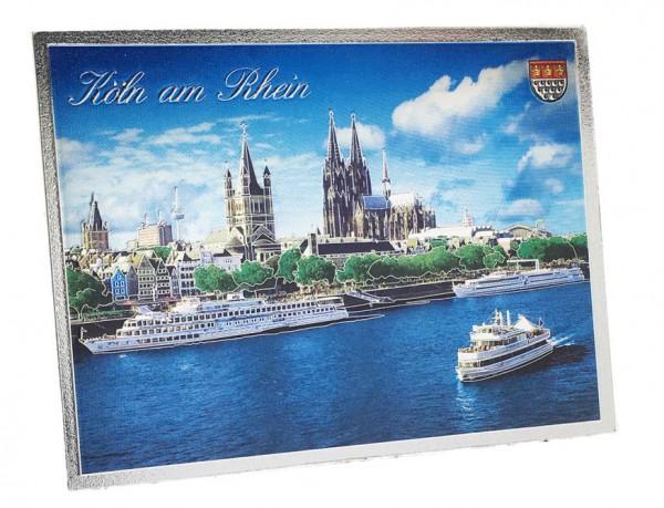 Magnet Metallic - Kölner Altstadt und Rhein