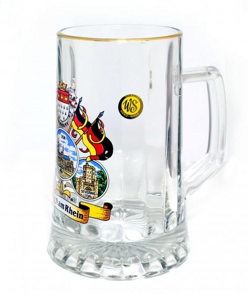 Glaskrug Köln am Rhein