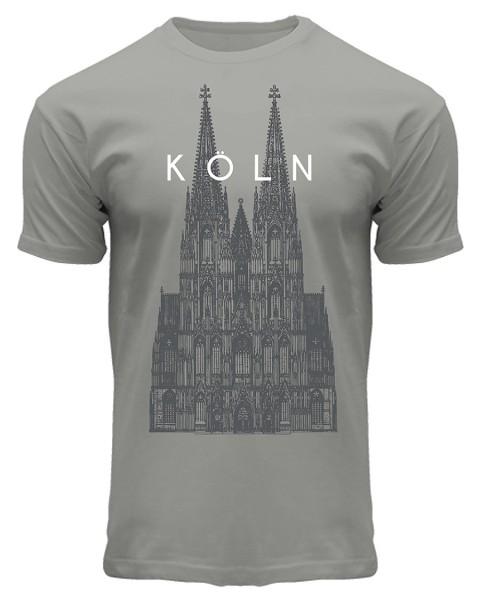 T-Shirt Kölner Dom, Herren