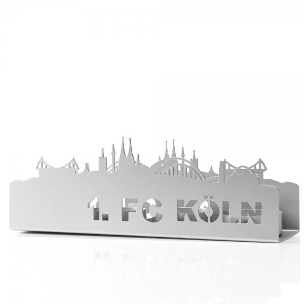 1. FC Köln Teelichthalter Skyline