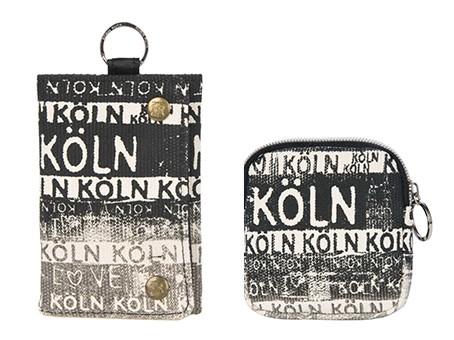Geldbörsen Köln schwarz/weiß