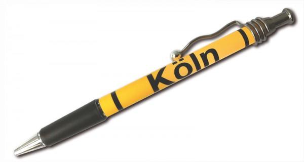 Kugelschreiber Ortsschild Köln