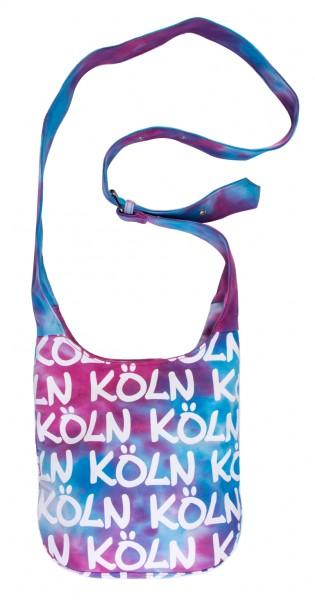 Schultertasche Köln, Batik