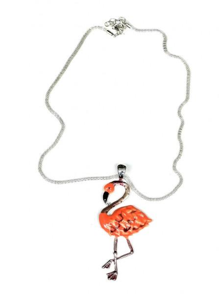 Halskette Flamingo