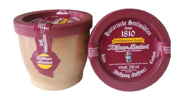 Original Kölner Mostert (Senf) im Steintopf
