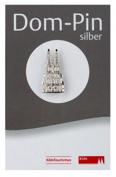 Pin Kölner Dom, silber