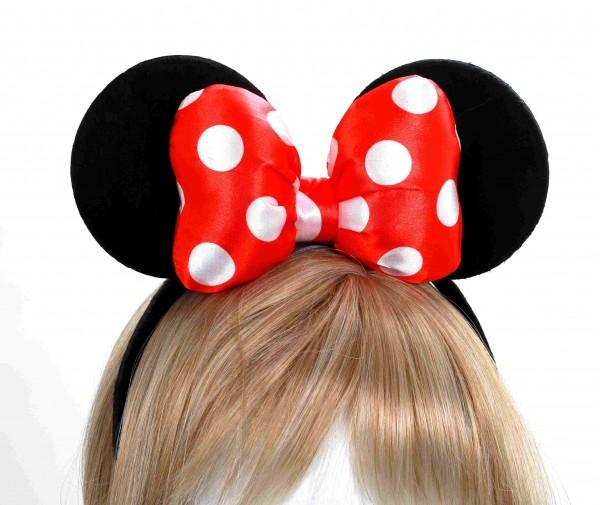 Minnie Maus Ohren mit Schleife