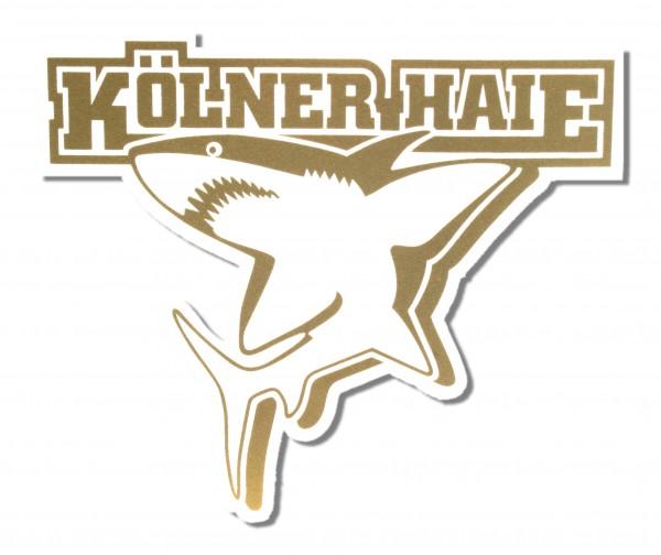 KEC Kölner Haie Logosticker, gold