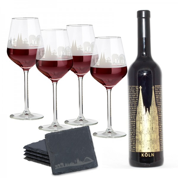 Wein op Kölsch Set - Deluxe