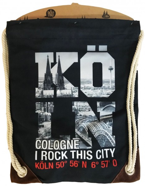 Turnbeutel Cologne - I Rock This City