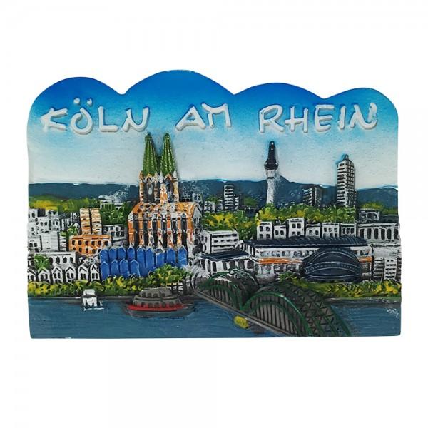 Magnet Köln am Rhein Wellen