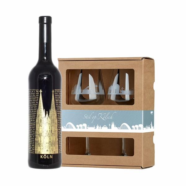 Wein op Kölsch Set
