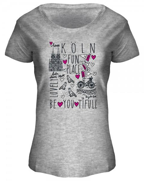 T-Shirt Fun Place, Damen
