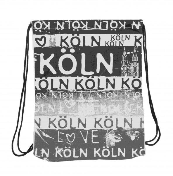 Sport Rucksack Köln schwarz/weiß