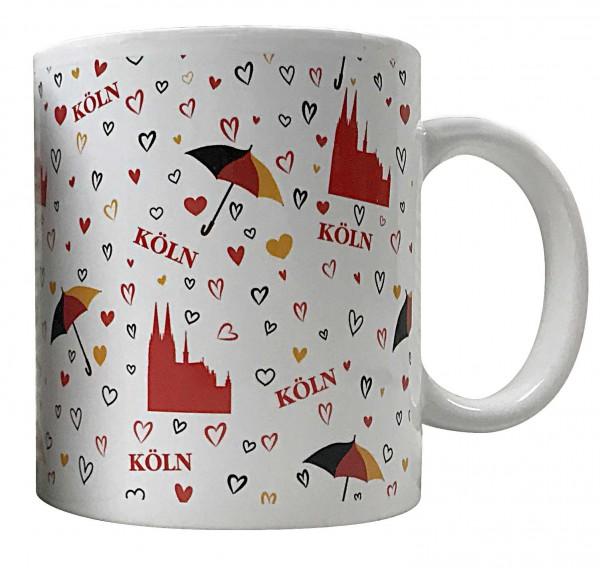 Kaffeetasse mit Dom und Herz