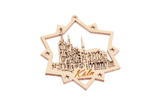Christbaum Anhänger Kölner Dom, zwei Größen