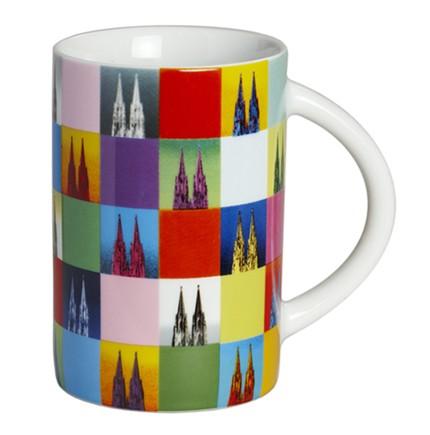 Kaffee-Pott mit Dom Mosaik