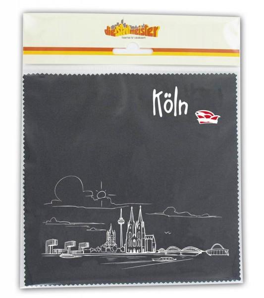 Brillenputztuch Köln Panorama