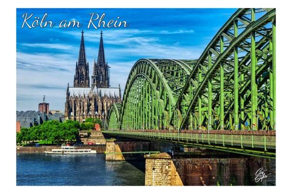 Magnet Kölner Dom und Hohenzollernbrücke