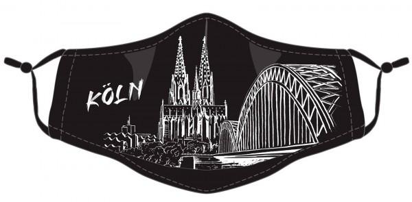 Köln Maske - Motiv Dom (2er Set)