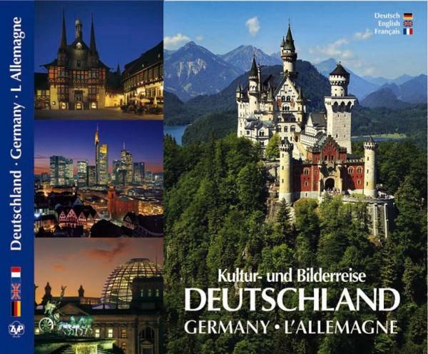 Kultur- und Bilderreise durch Deutschland, different languages