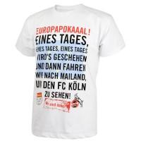 "1. FC Köln T-Shirt ""Europapokaal"""