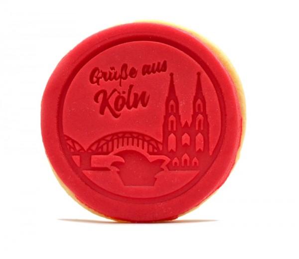 """Keks """"Grüße aus Köln"""" rot"""