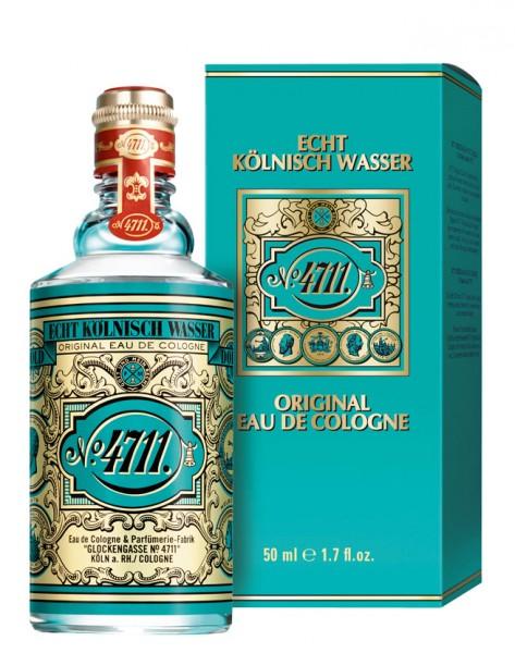 4711 Echt Kölnisch Wasser Molanusflasche im Karton