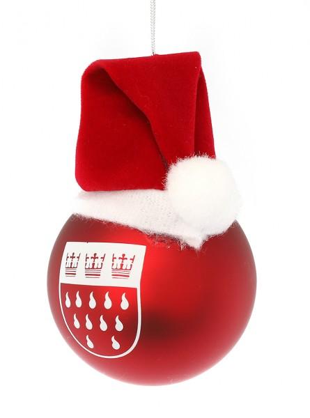 Christbaumkugel mit Mütze
