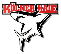 KEC Kölner Haie Logosticker, klein