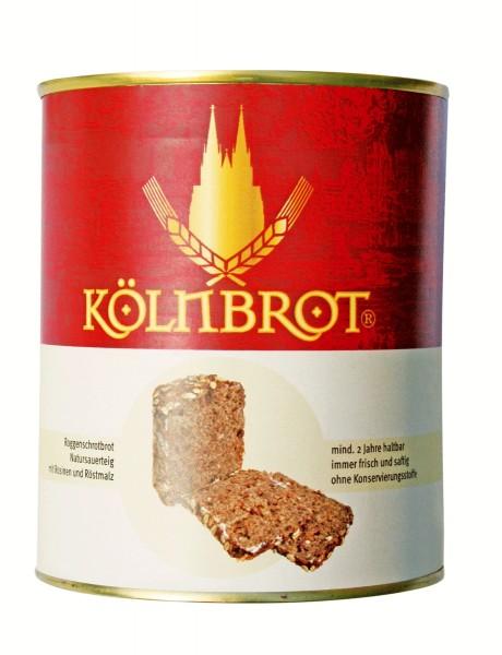 KölnBrot - Roggenschrotbrot in der Dose