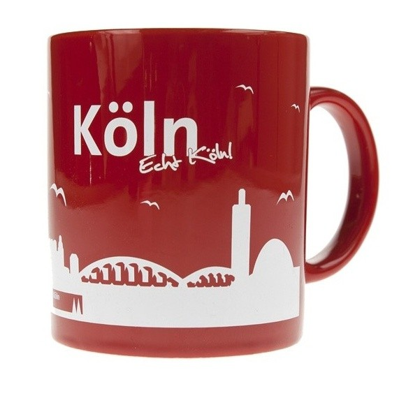 Tasse mit der Kölner Skyline