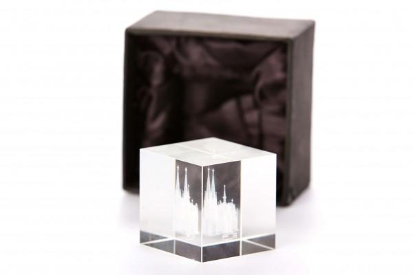 Glas-Cubus Kölner Dom, verschiedene Größen