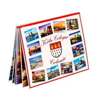 Postkarten- Leporello Köln - Cologne